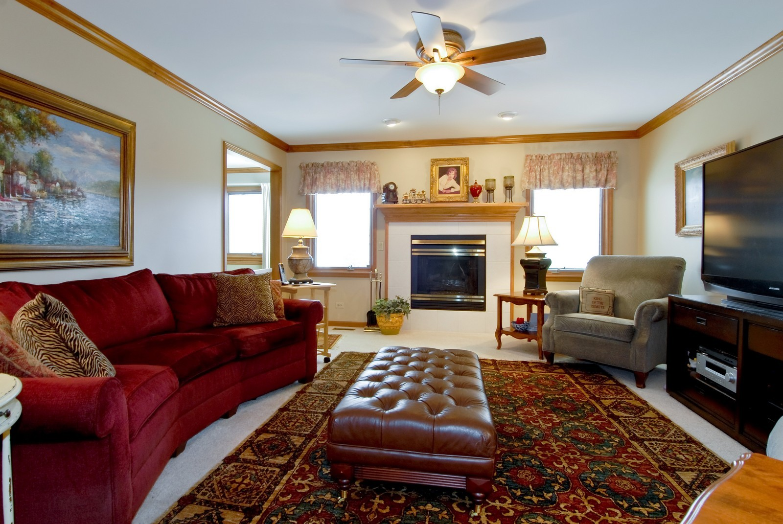 Real Estate Photography - 14 N Dixon Rd, Batavia, IL, 60510 - Family Room