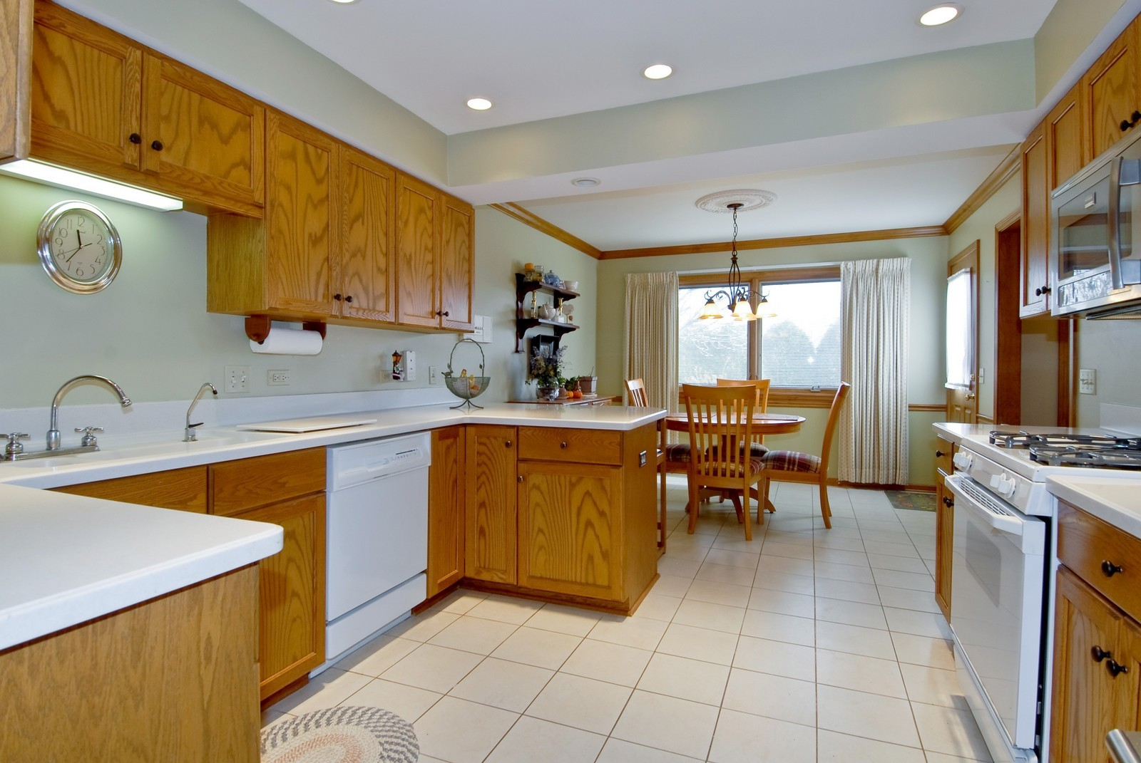 Real Estate Photography - 14 N Dixon Rd, Batavia, IL, 60510 - Kitchen