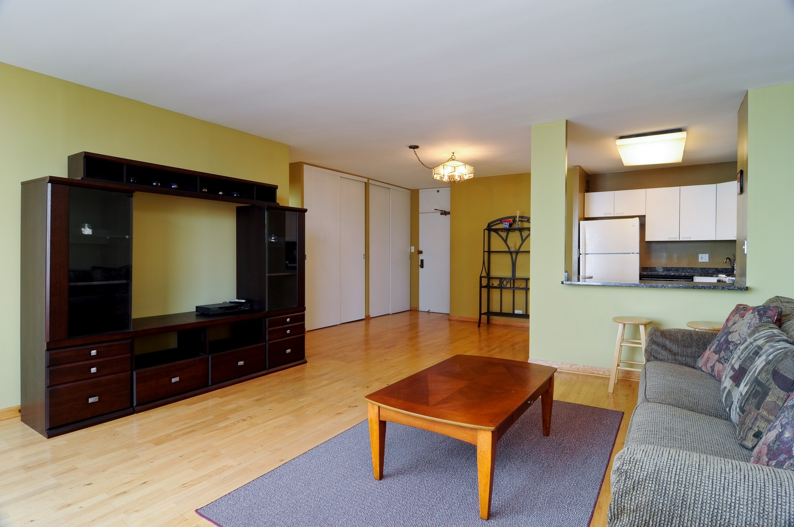 Real Estate Photography - 1000 Lake Shore Dr, Unit 2106, Chicago, IL, 60611 - Living Room