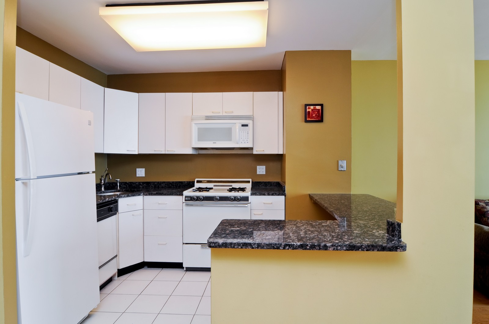 Real Estate Photography - 1000 Lake Shore Dr, Unit 2106, Chicago, IL, 60611 - Kitchen