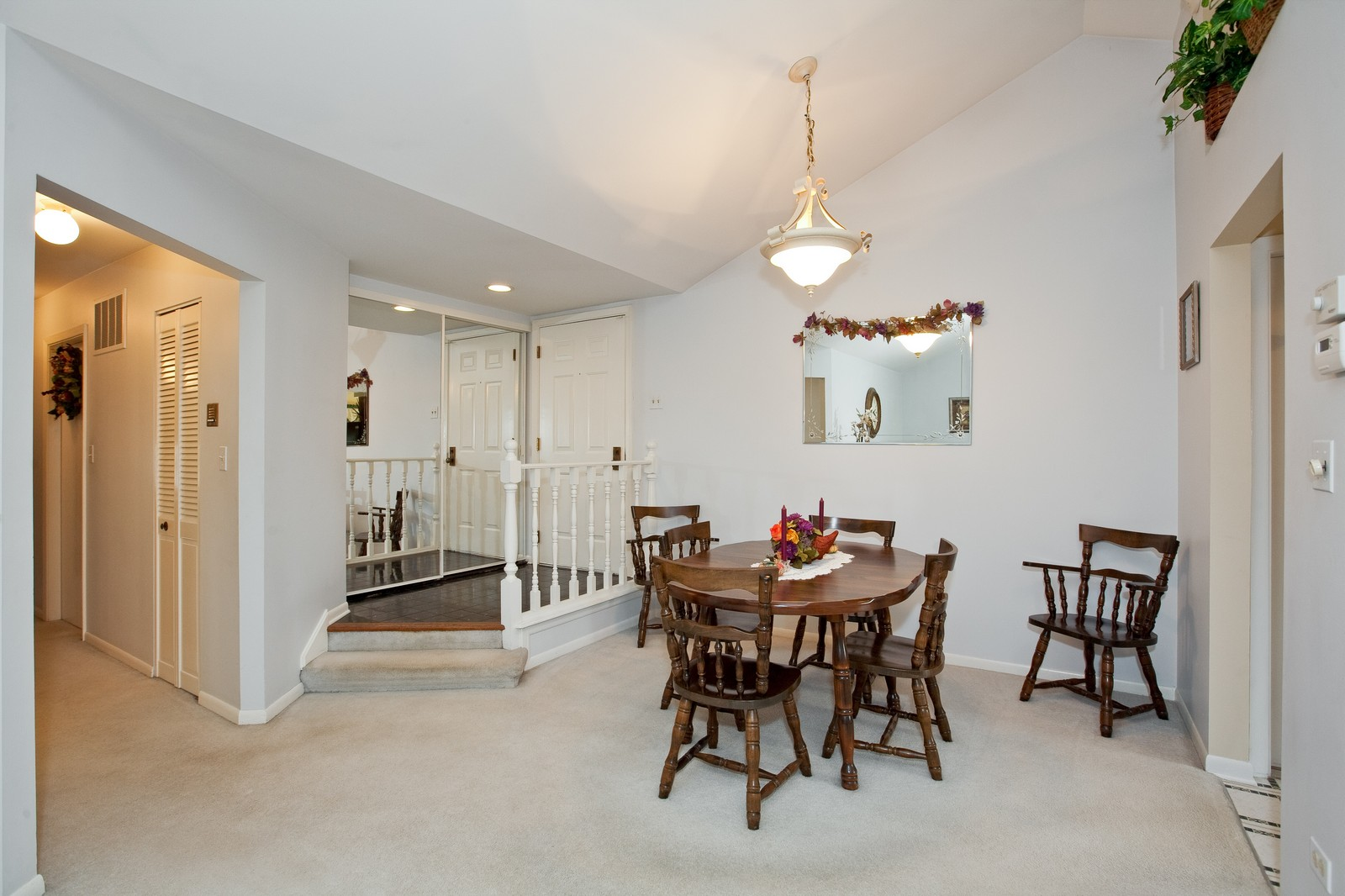 Real Estate Photography - 717 Maplewood Ct, Unit 38-C, Willowbrook, IL, 60527 - Dining Room