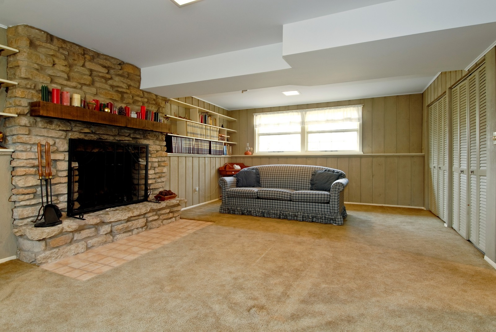 Real Estate Photography - 1401 Elm St, St Charles, IL, 60174 - Basement
