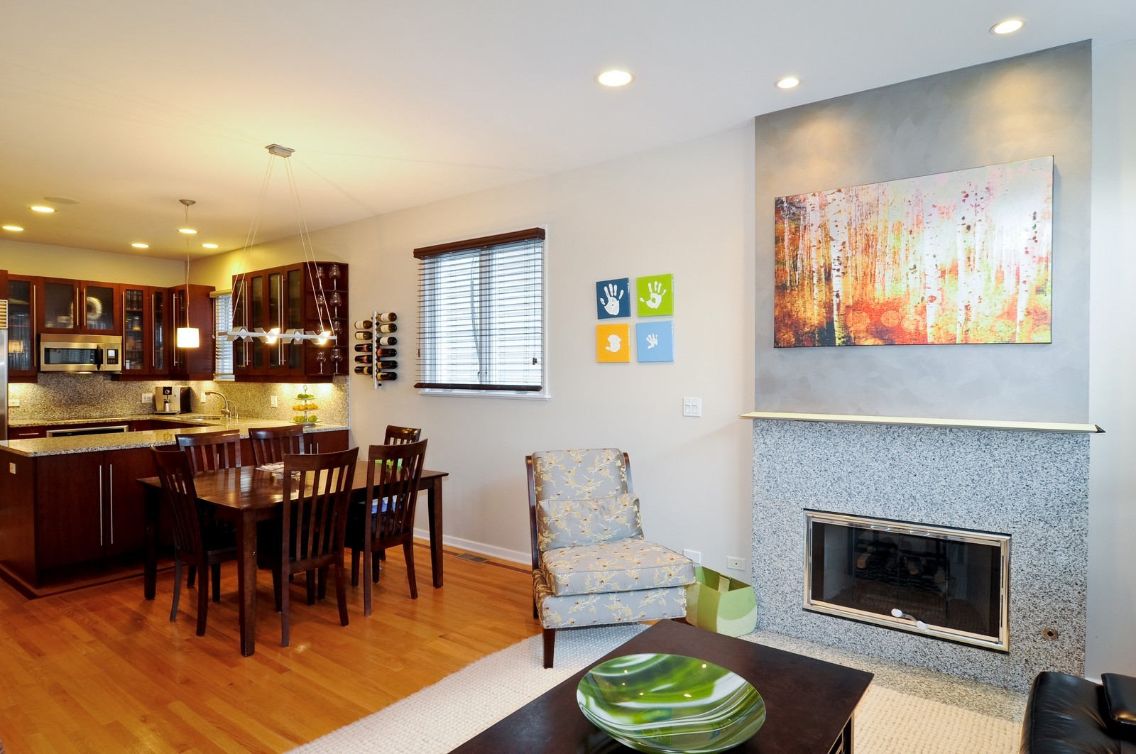 Real Estate Photography - 838-840 Greenview, Chicago, IL, 60642 - Living Room