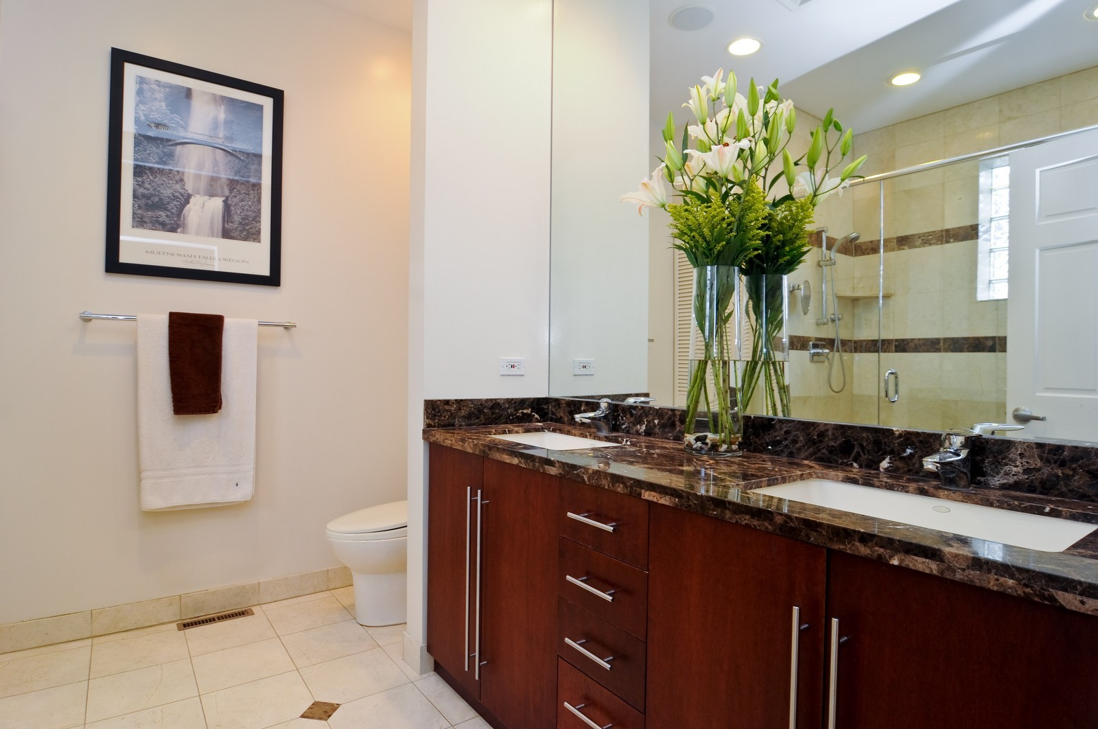 Real Estate Photography - 838-840 Greenview, Chicago, IL, 60642 - Master Bathroom
