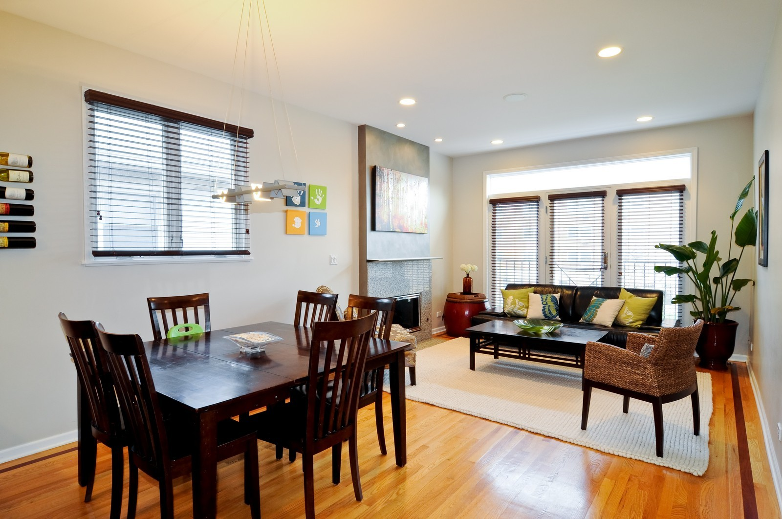 Real Estate Photography - 838-840 Greenview, Chicago, IL, 60642 - Dining Room