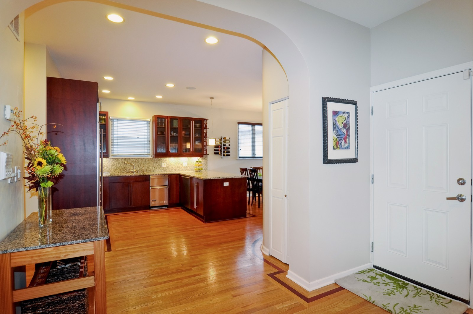 Real Estate Photography - 838-840 Greenview, Chicago, IL, 60642 - Foyer
