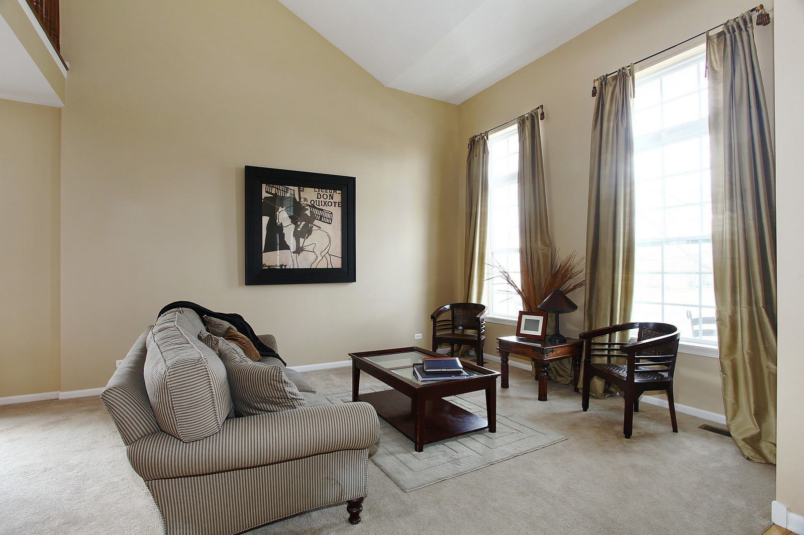 Real Estate Photography - 3298 Fieldstone Dr, Geneva, IL, 60134 - Living Room