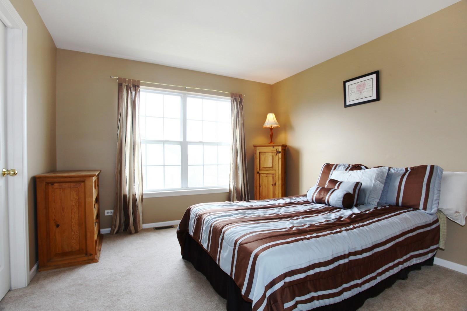 Real Estate Photography - 3298 Fieldstone Dr, Geneva, IL, 60134 - Bedroom