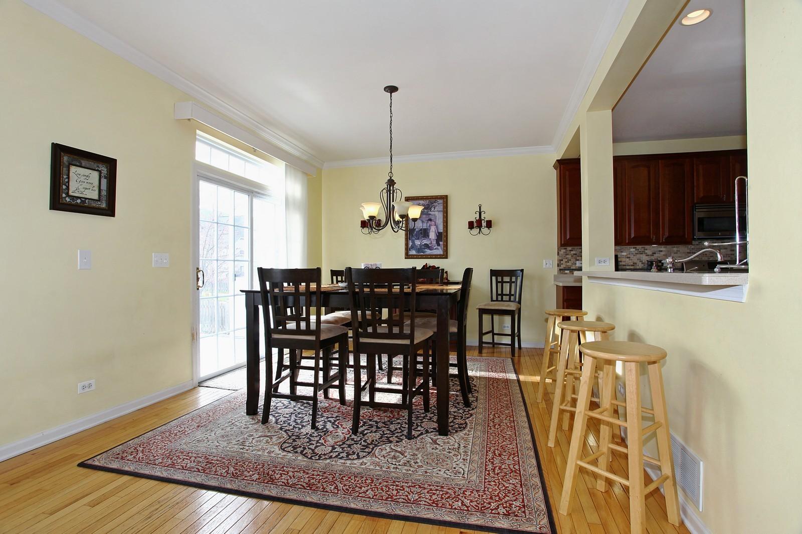 Real Estate Photography - 3298 Fieldstone Dr, Geneva, IL, 60134 - Breakfast Area