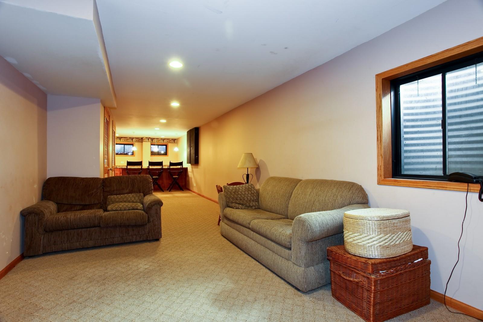 Real Estate Photography - 39W539 Schoolhouse Ln, Geneva, IL, 60134 - Basement