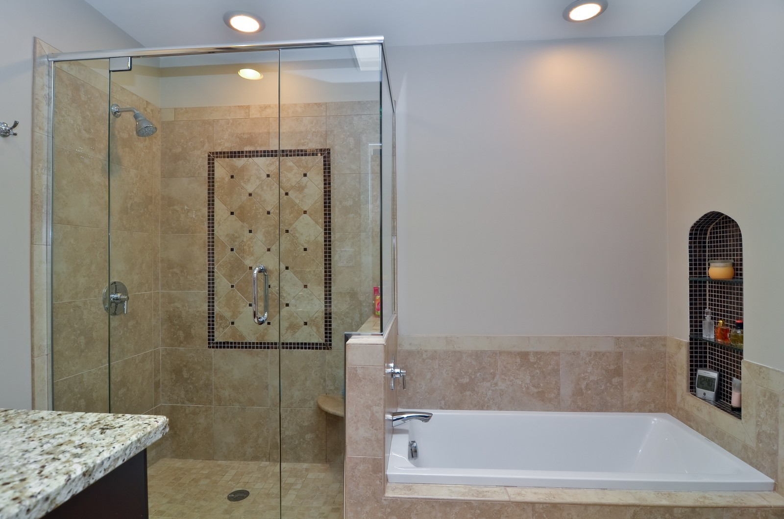Real Estate Photography - 4220 Greenwood ST, Skokie, IL, 60076 - Master Bathroom