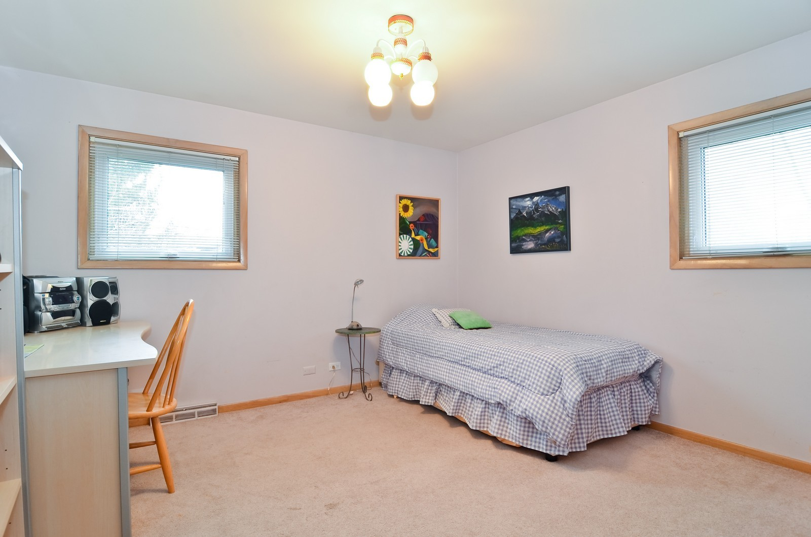 Real Estate Photography - 4220 Greenwood ST, Skokie, IL, 60076 - 3rd Bedroom