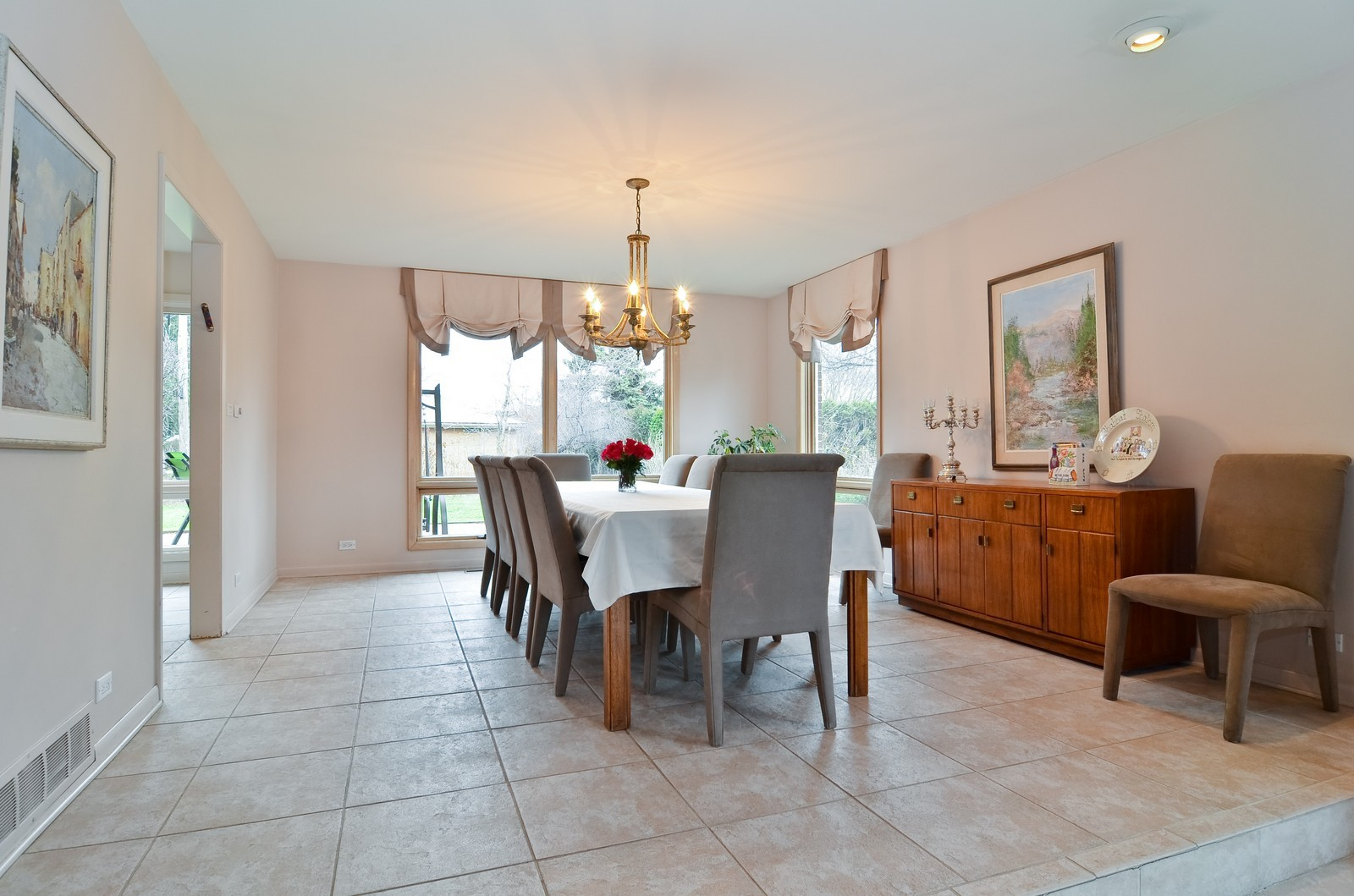 Real Estate Photography - 4220 Greenwood ST, Skokie, IL, 60076 - Dining Room