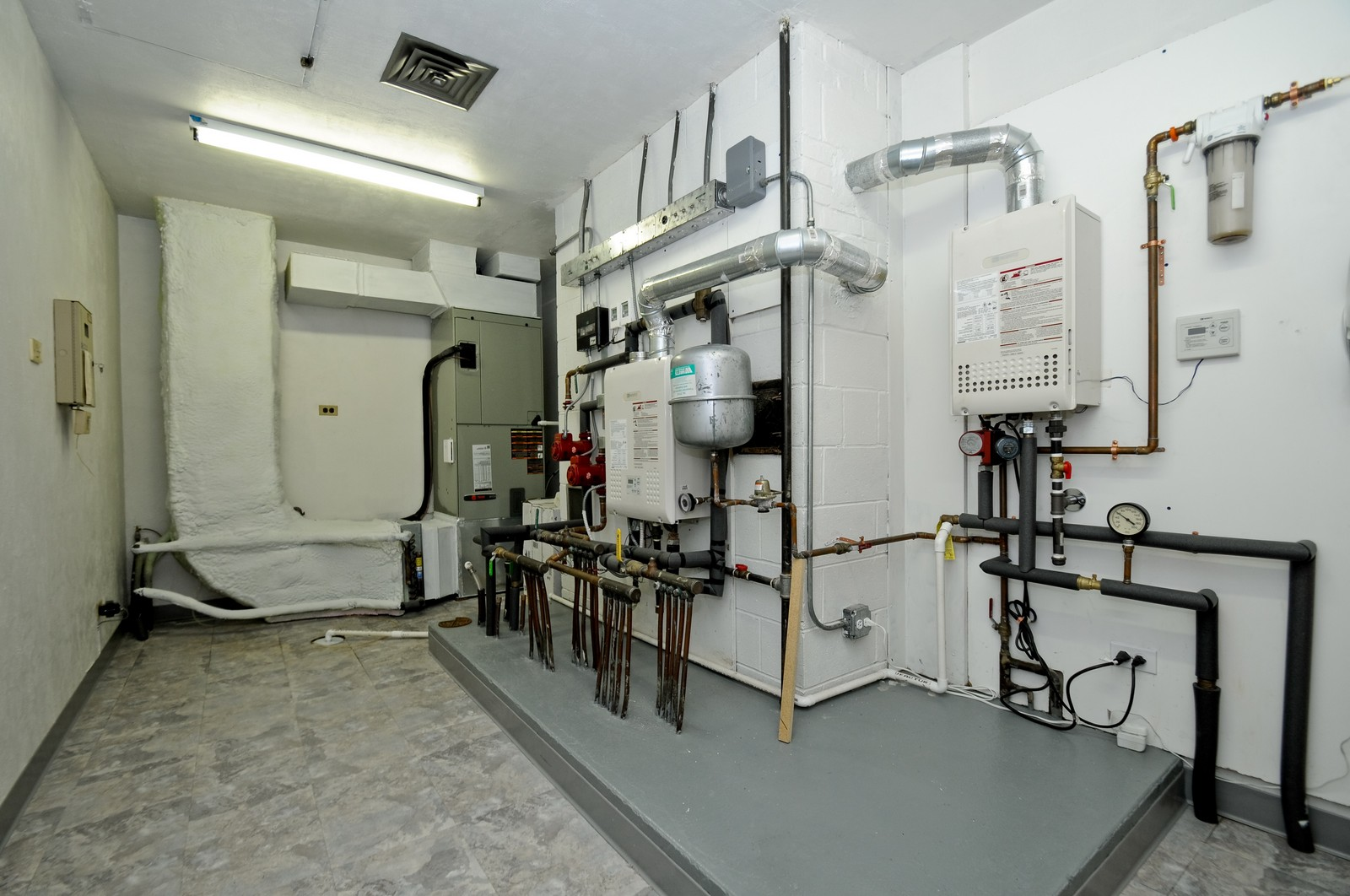 Real Estate Photography - 666 Birch Ln, Olympia Fields, IL, 60461 - Utility Room w/Energy Saving Features