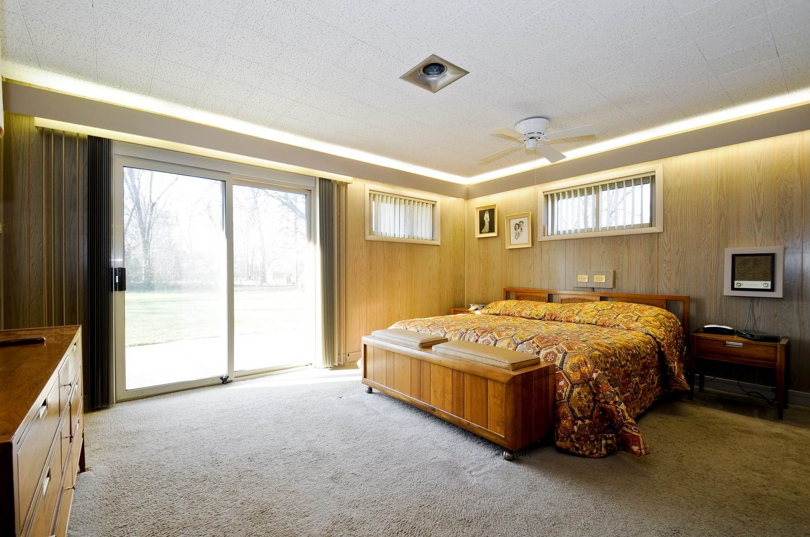 Real Estate Photography - 666 Birch Ln, Olympia Fields, IL, 60461 - Spacious Master Bedroom w/Private Bath
