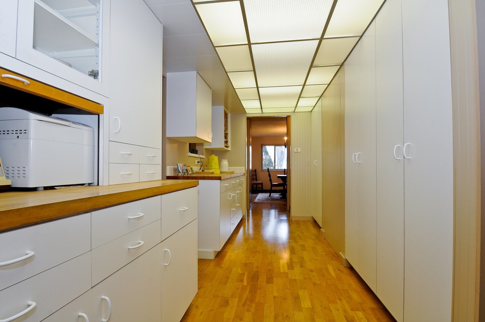 Real Estate Photography - 666 Birch Ln, Olympia Fields, IL, 60461 - Galley Kitchen View #2 More Cabinet Space