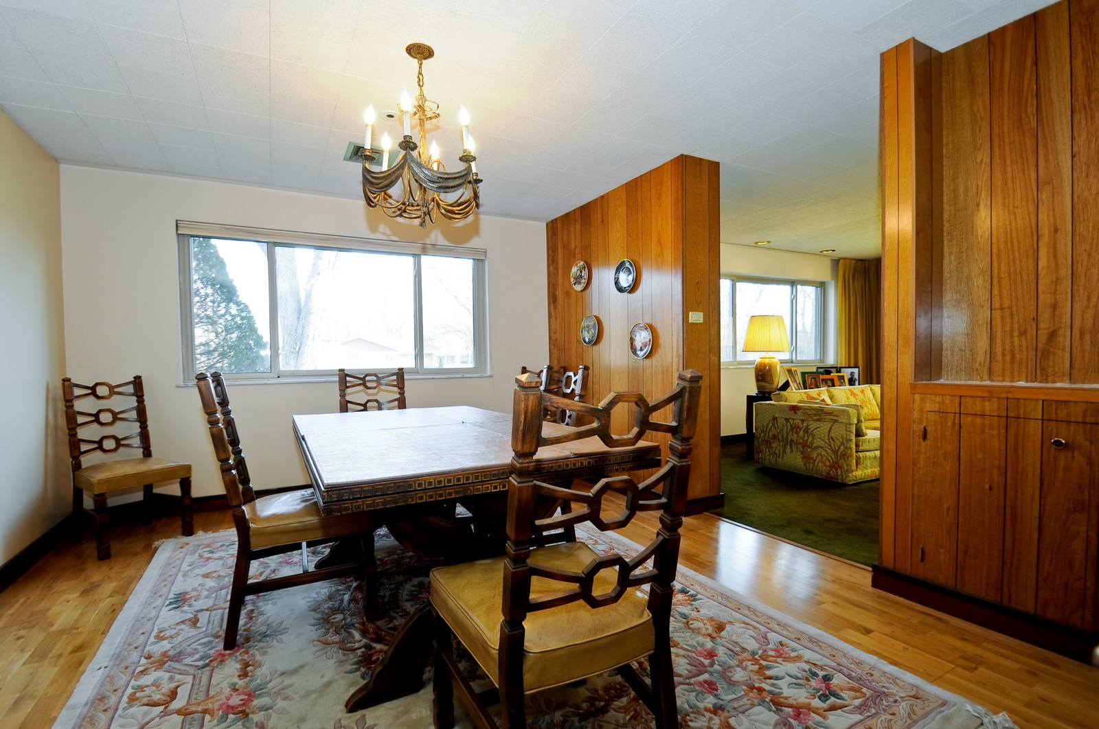 Real Estate Photography - 666 Birch Ln, Olympia Fields, IL, 60461 - Spacious Formal Dining Room w/Hardwood Floor