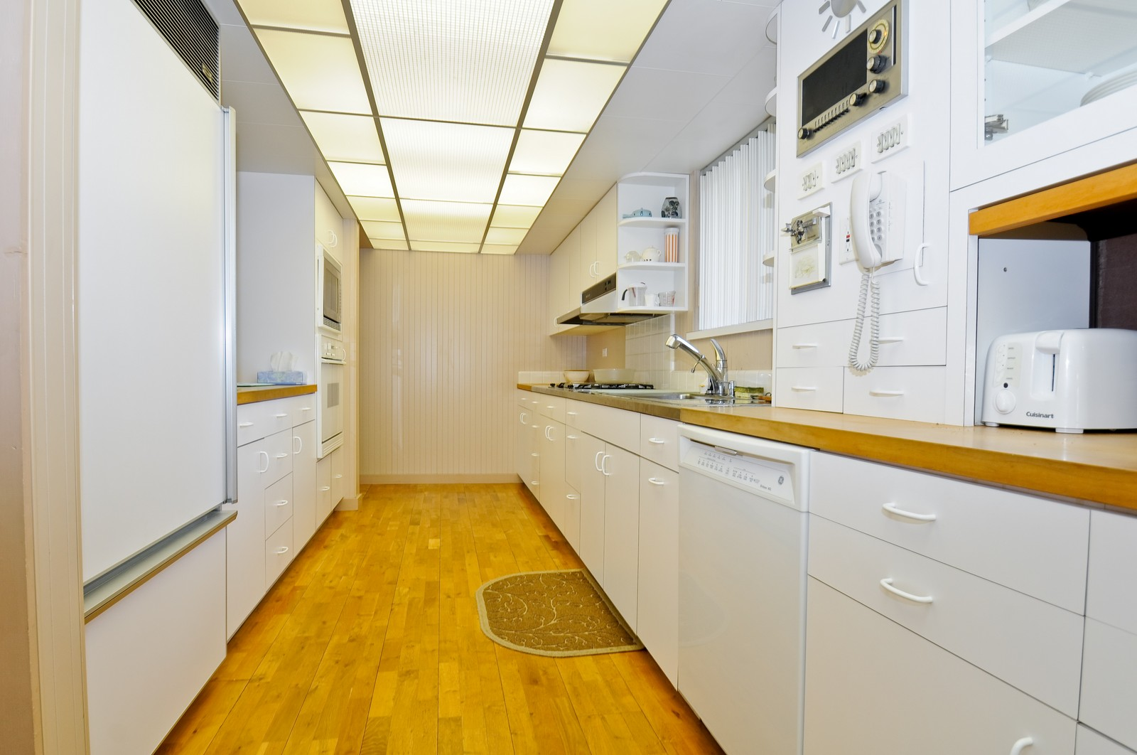 Real Estate Photography - 666 Birch Ln, Olympia Fields, IL, 60461 - 32 Ft. Galley Kitchen Loaded w/Storage Space