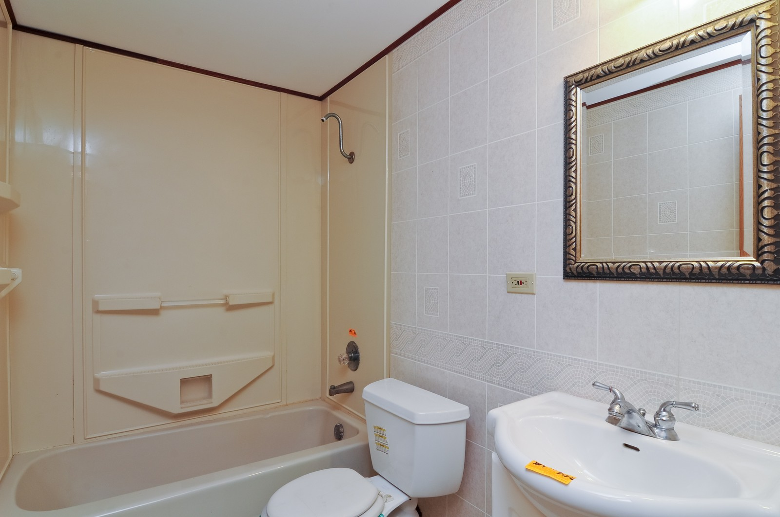 Real Estate Photography - 21800 W Lake Ave, Round Lake, IL, 60073 - Bathroom