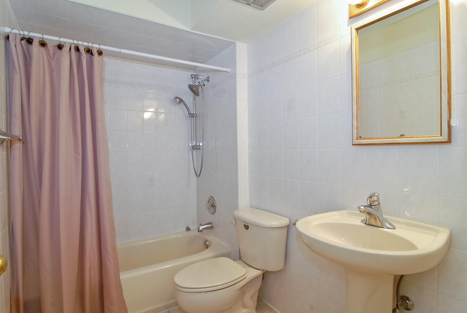 Real Estate Photography - 800 Washington Blvd, Unit 402, Oak Park, IL, 60302 - Master Bathroom