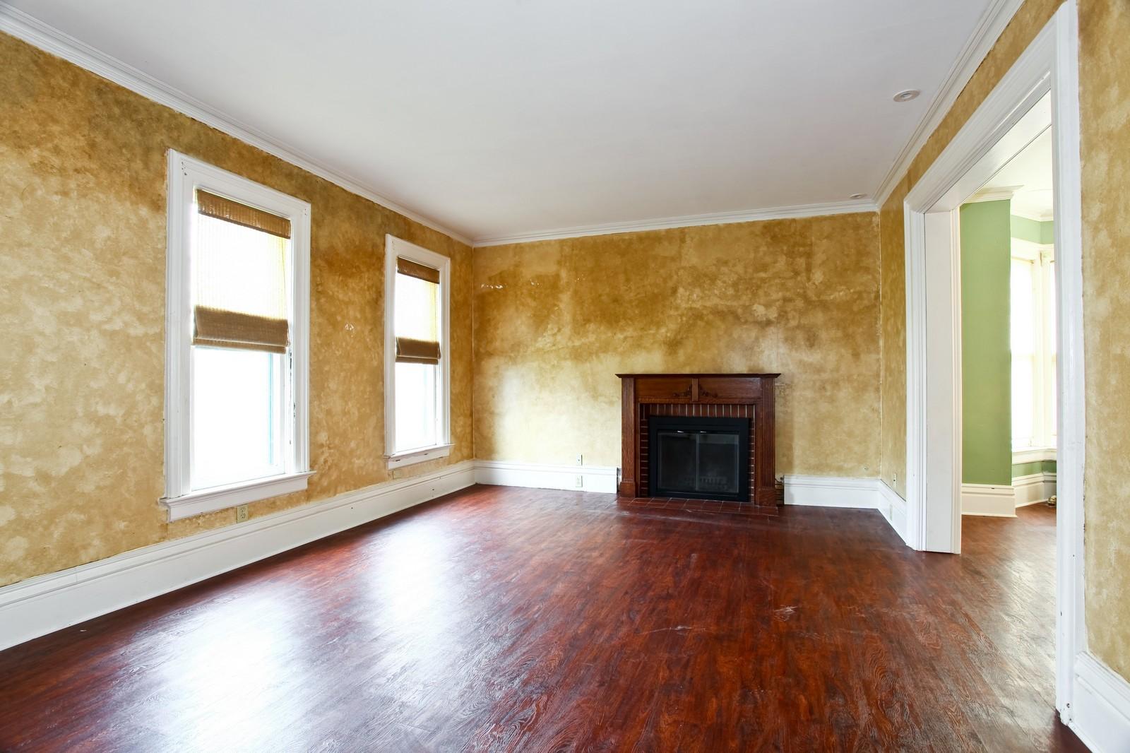 Real Estate Photography - 1126 Main St, Batavia, IL, 60510 - Living Room