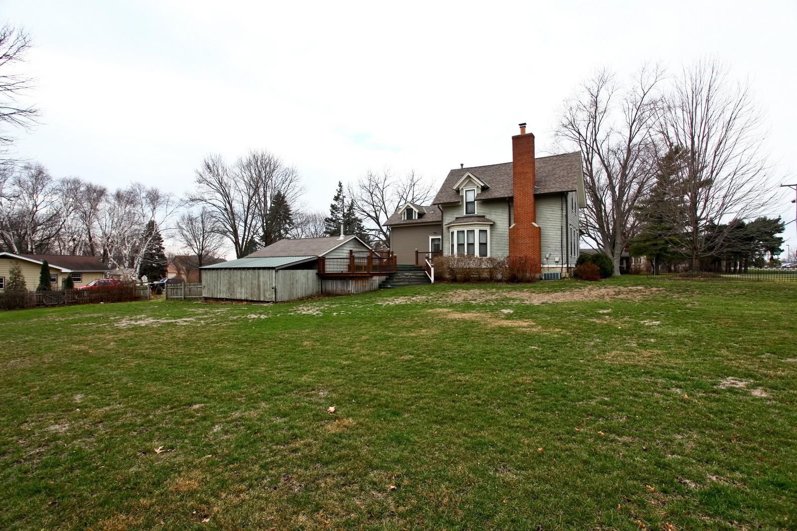 Real Estate Photography - 1126 Main St, Batavia, IL, 60510 - Rear View
