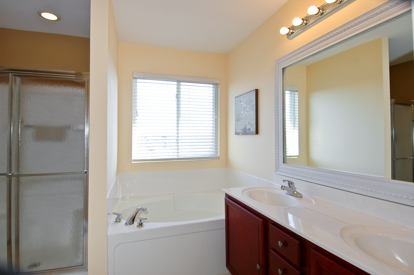 Real Estate Photography - 425 N Carlisle Ct, Round Lake, IL, 60073 - Master Bathroom
