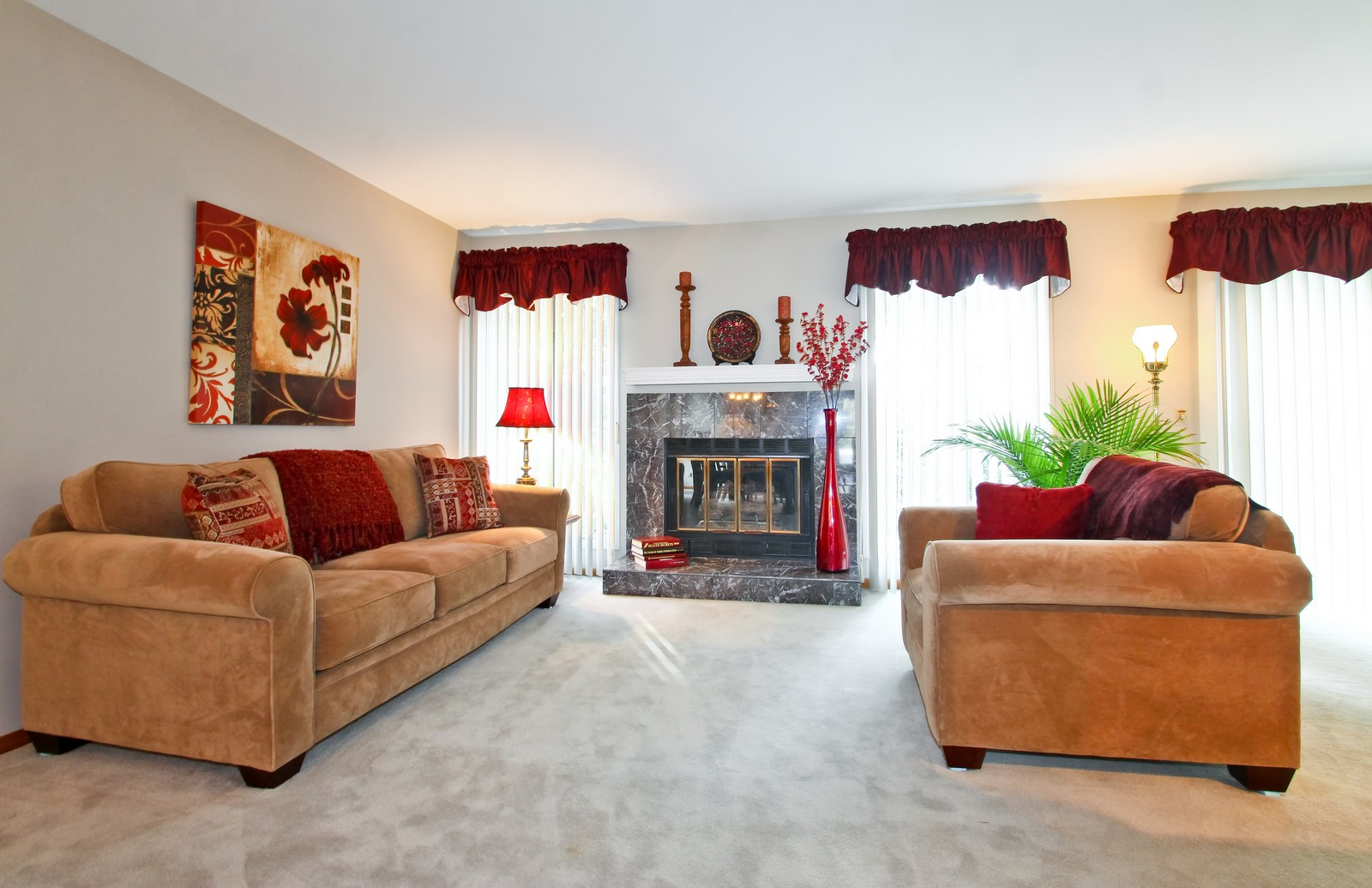 Real Estate Photography - 1013 Rene Ct, Park Ridge, IL, 60068 - Living Room