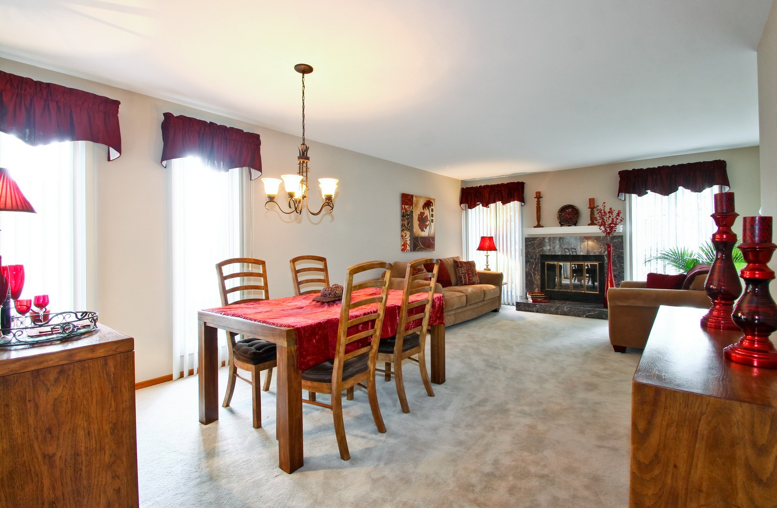 Real Estate Photography - 1013 Rene Ct, Park Ridge, IL, 60068 - Living Room / Dining Room