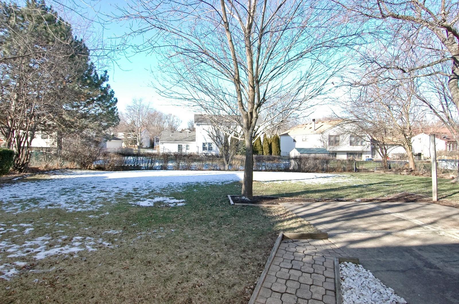 Real Estate Photography - 756 Harvest Dr, Lake Zurich, IL, 60047 - Back Yard