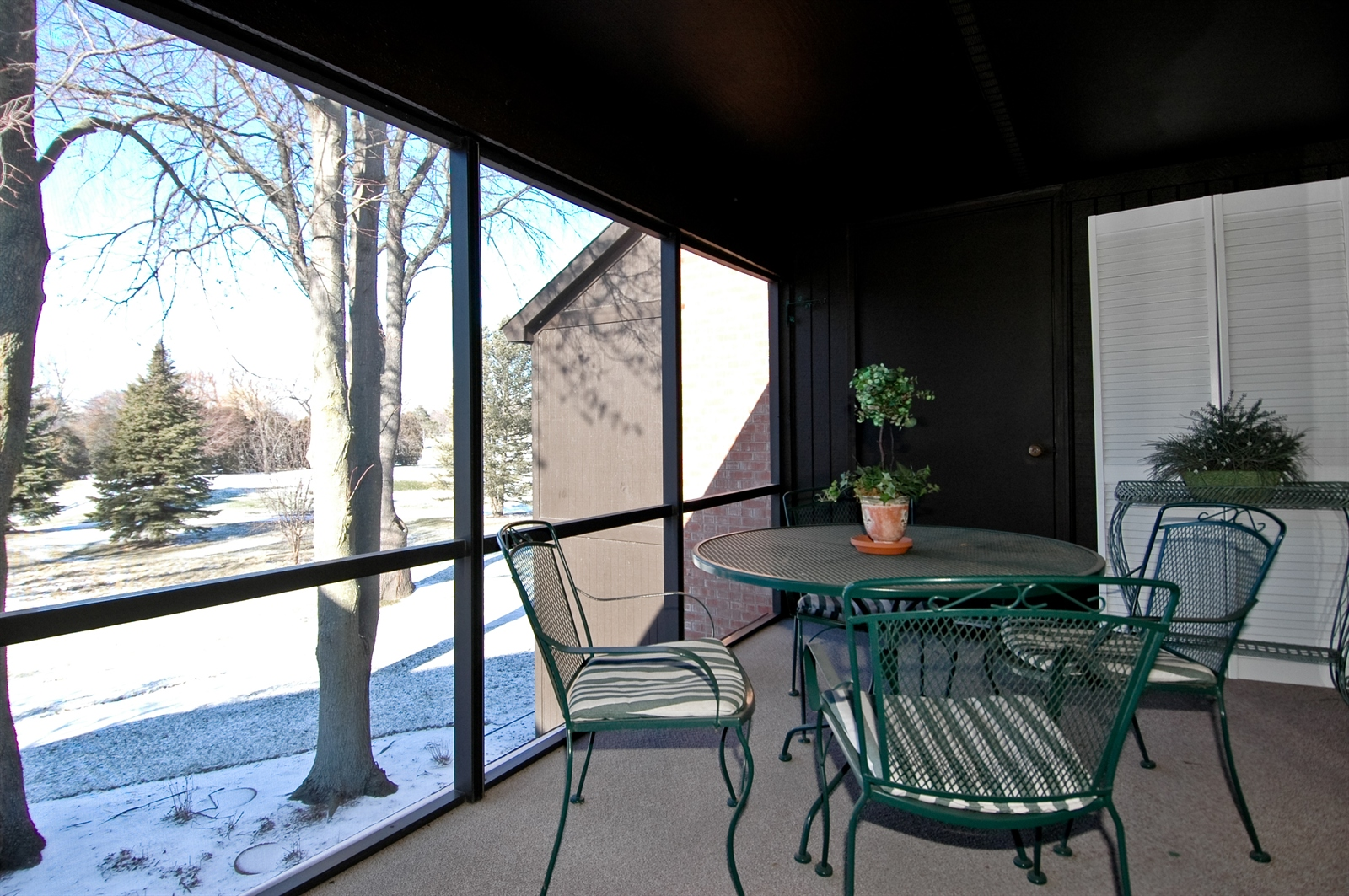 Real Estate Photography - 740 St Andrews Lane, Unit 24, Crystal Lake, IL, 60014 - Porch