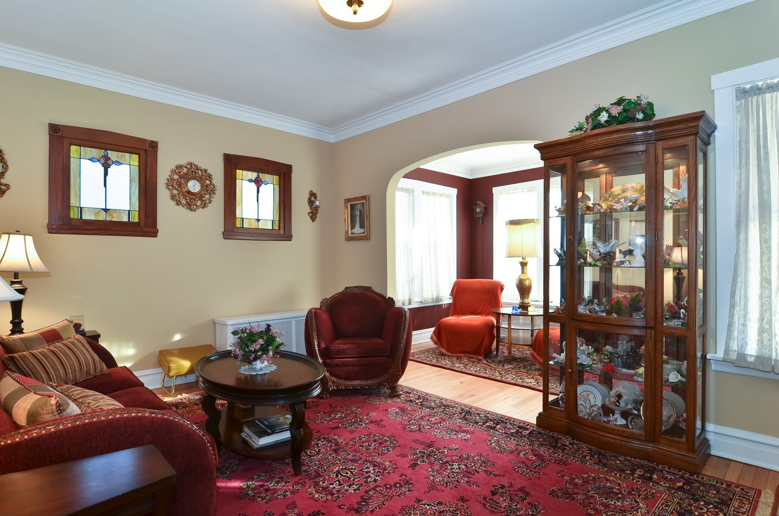 Real Estate Photography - 4808 W Gunnison, Chicago, IL, 60630 - Living Room