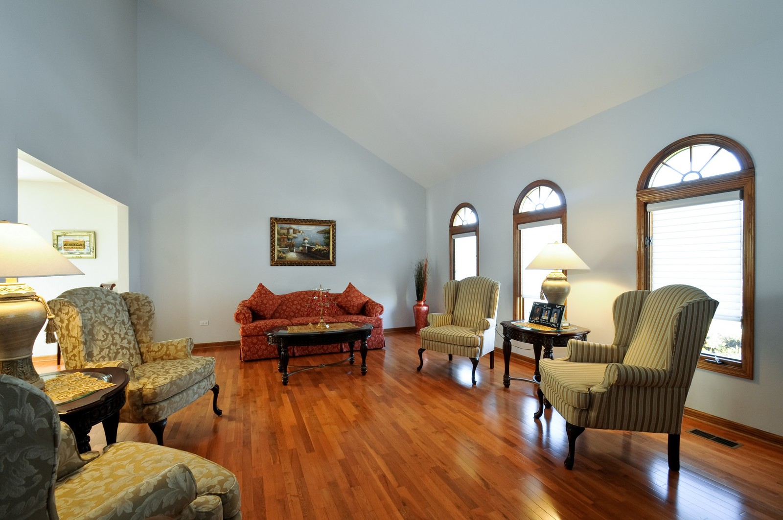 Real Estate Photography - 17197 Winding Creek Dr, Orland Park, IL, 60467 - Living Room
