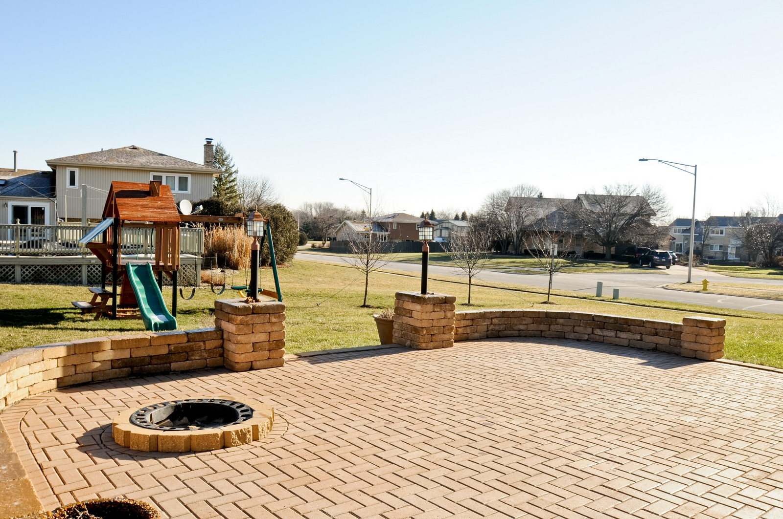 Real Estate Photography - 17197 Winding Creek Dr, Orland Park, IL, 60467 - Patio