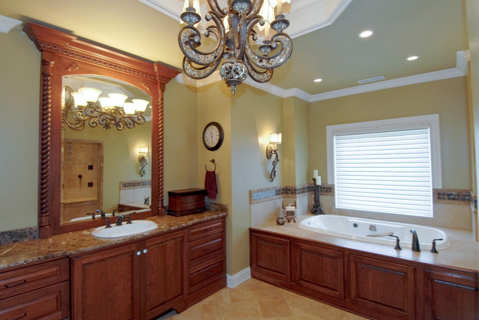 Real Estate Photography - 729 Wellner Dr, Naperville, IL, 60540 - Master Bathroom