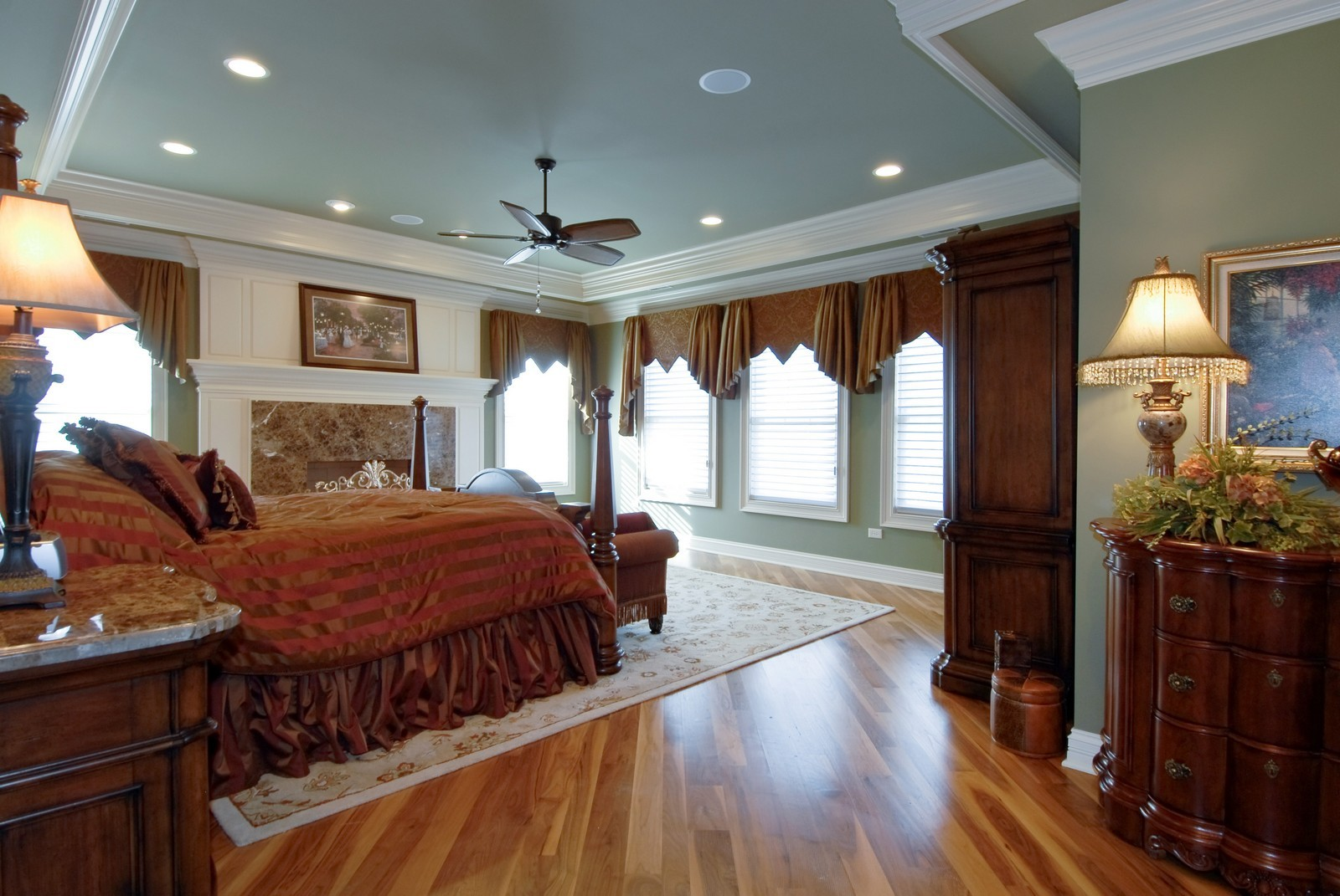 Real Estate Photography - 729 Wellner Dr, Naperville, IL, 60540 - Master Bedroom