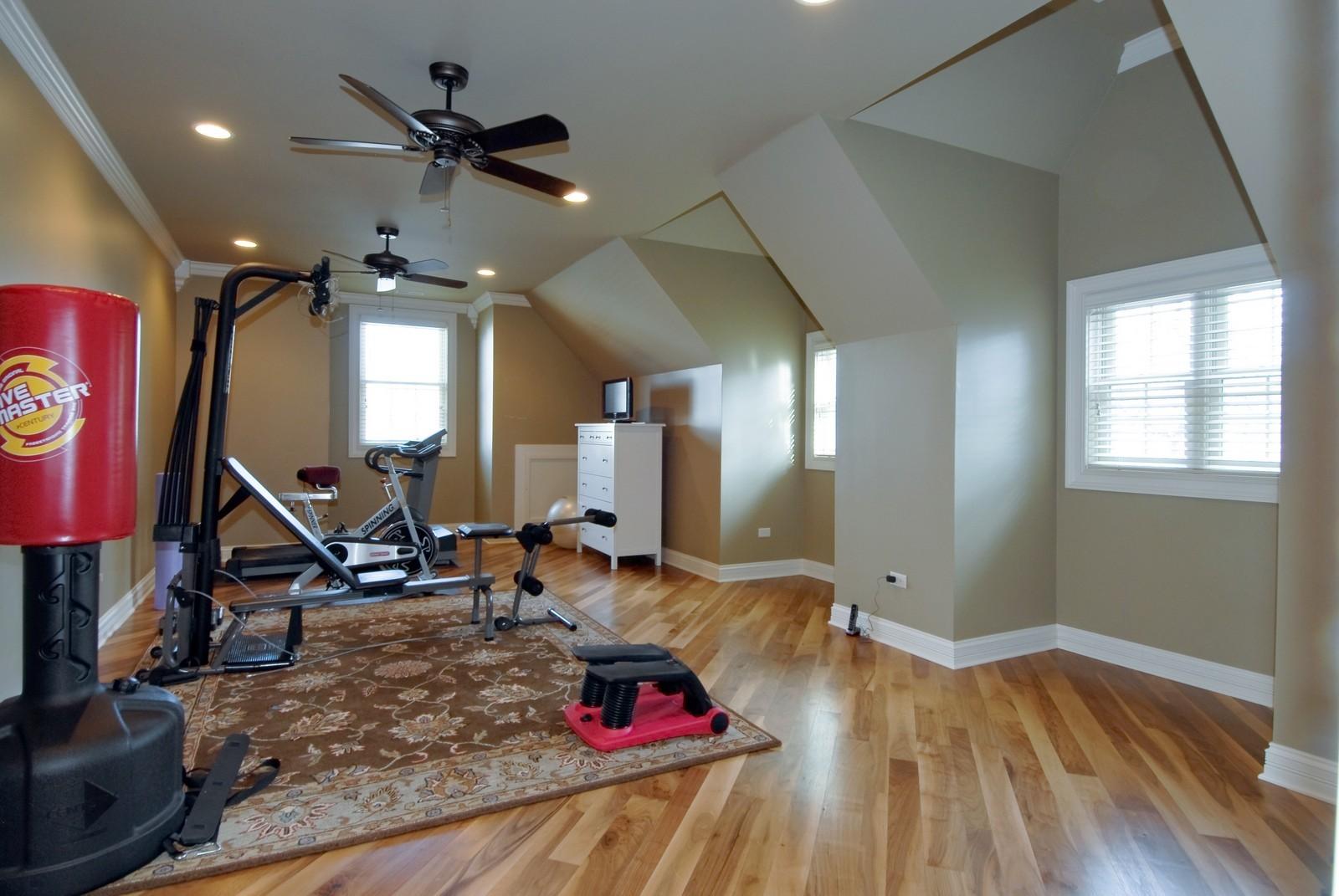 Real Estate Photography - 729 Wellner Dr, Naperville, IL, 60540 - Bonus Room
