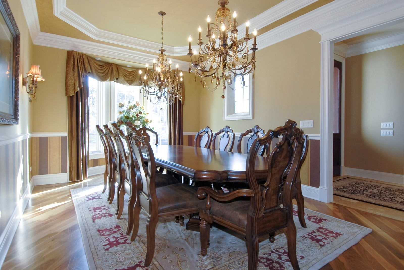 Real Estate Photography - 729 Wellner Dr, Naperville, IL, 60540 - Dining Room