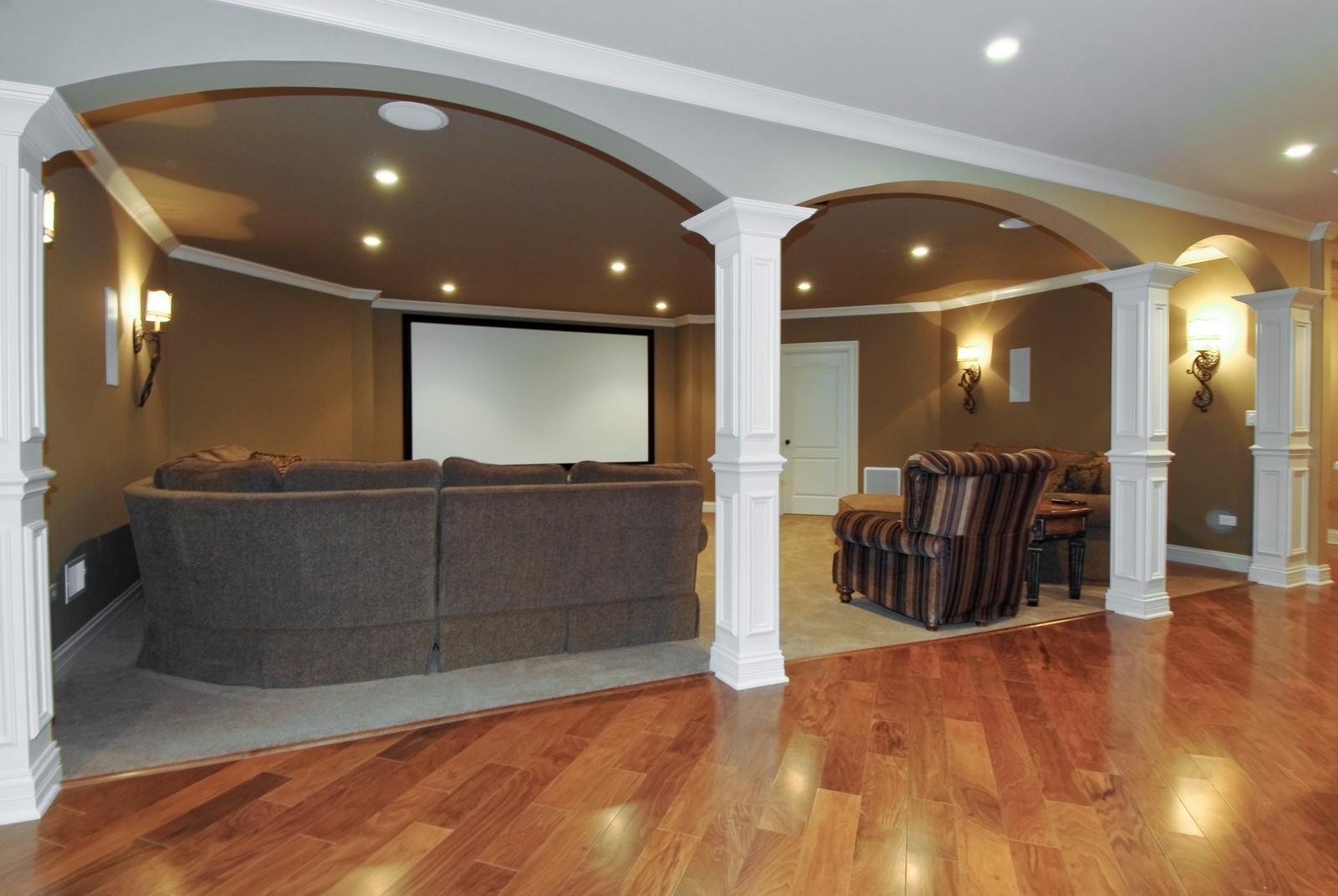Real Estate Photography - 729 Wellner Dr, Naperville, IL, 60540 - Basement