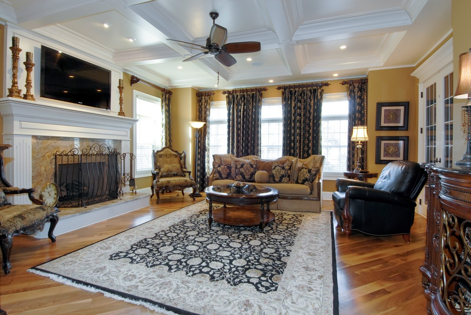 Real Estate Photography - 729 Wellner Dr, Naperville, IL, 60540 - Family Room
