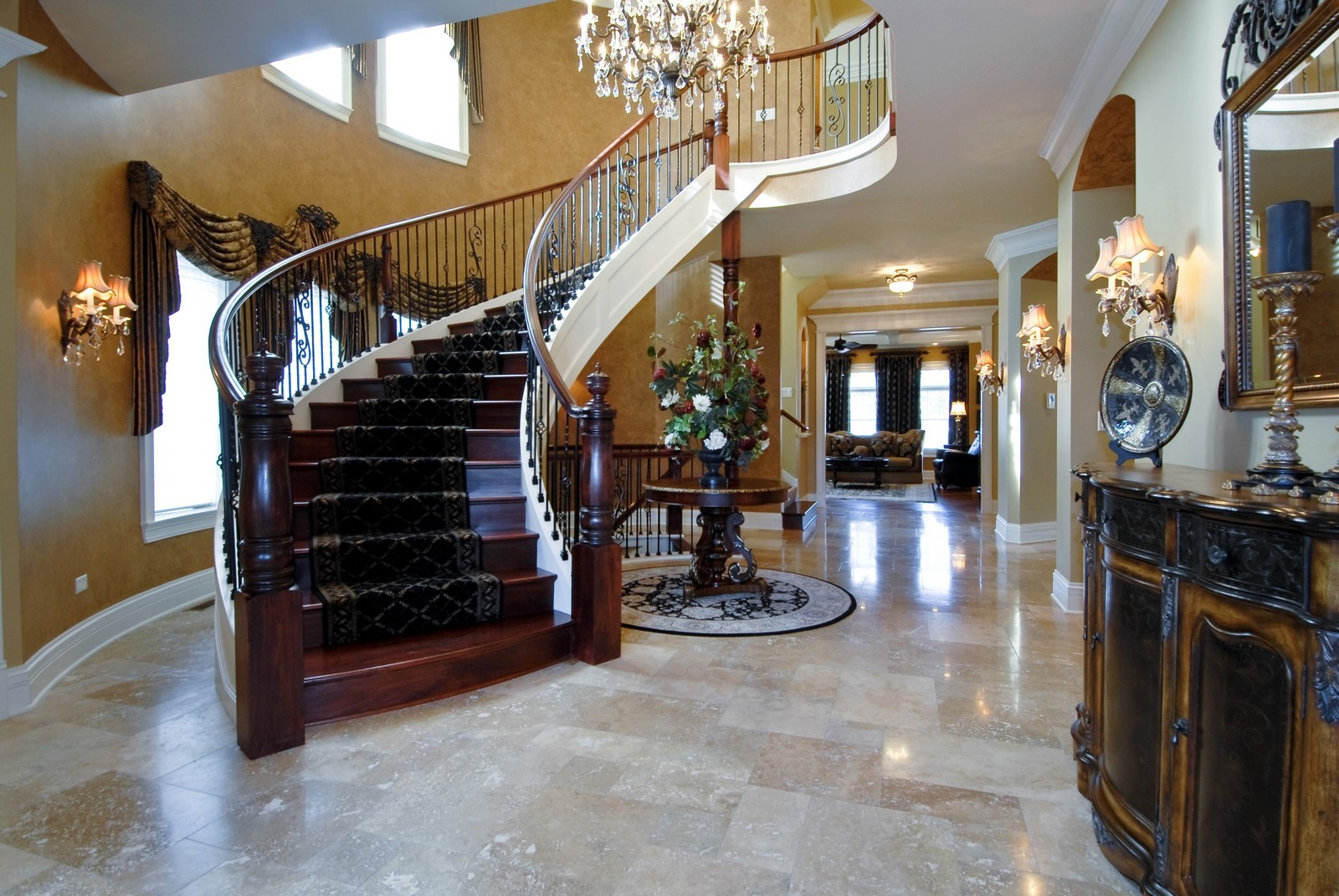 Real Estate Photography - 729 Wellner Dr, Naperville, IL, 60540 - Foyer