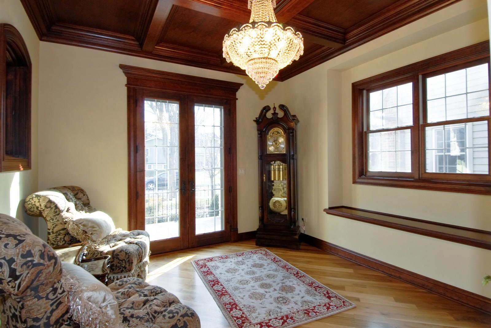 Real Estate Photography - 729 Wellner Dr, Naperville, IL, 60540 - Den