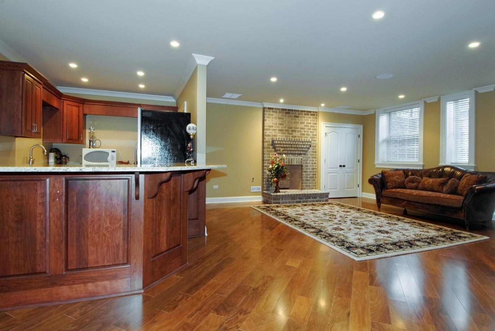Real Estate Photography - 729 Wellner Dr, Naperville, IL, 60540 - Bar
