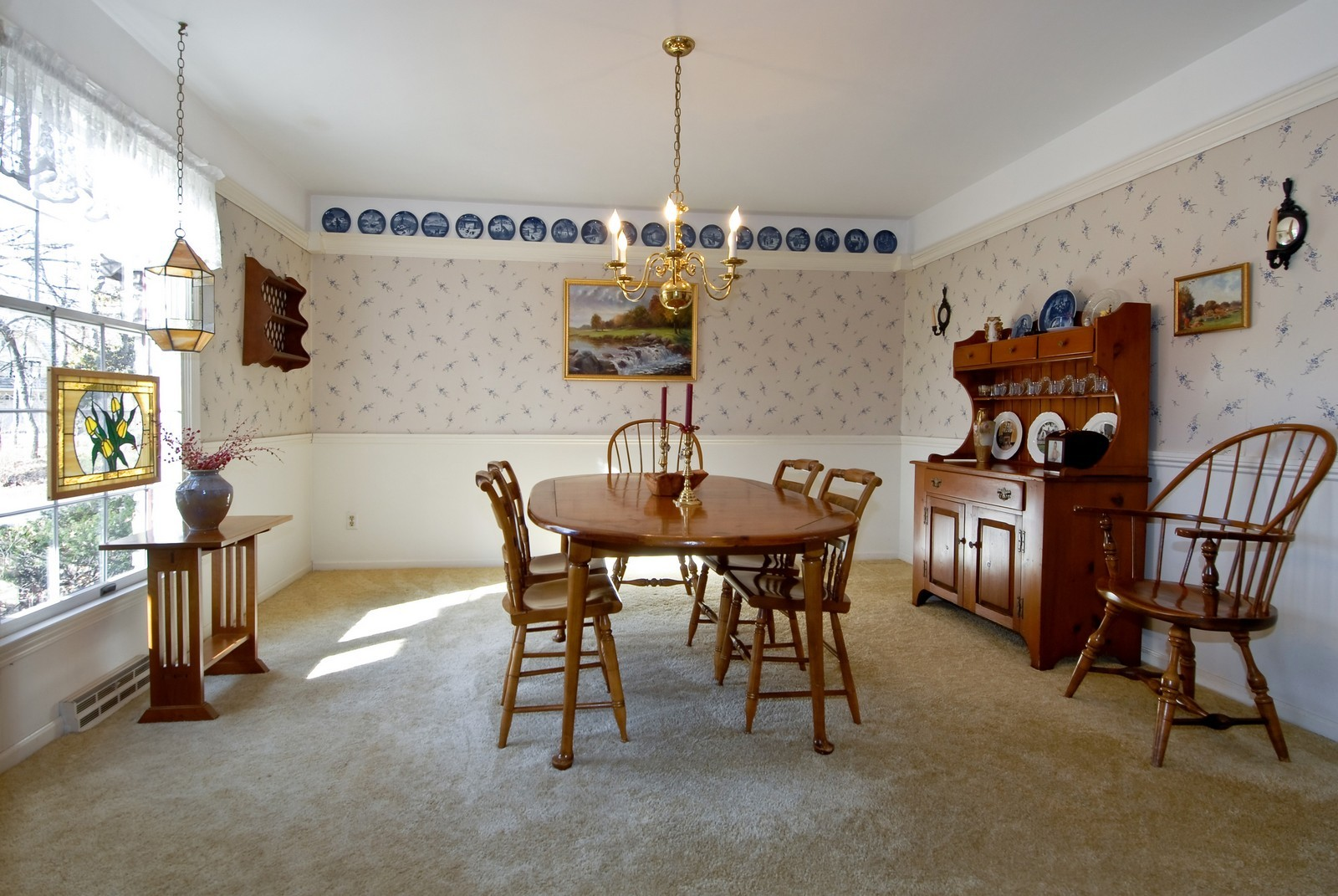 Real Estate Photography - 4N307 Knollcreek Dr, St Charles, IL, 60175 - Dining Room