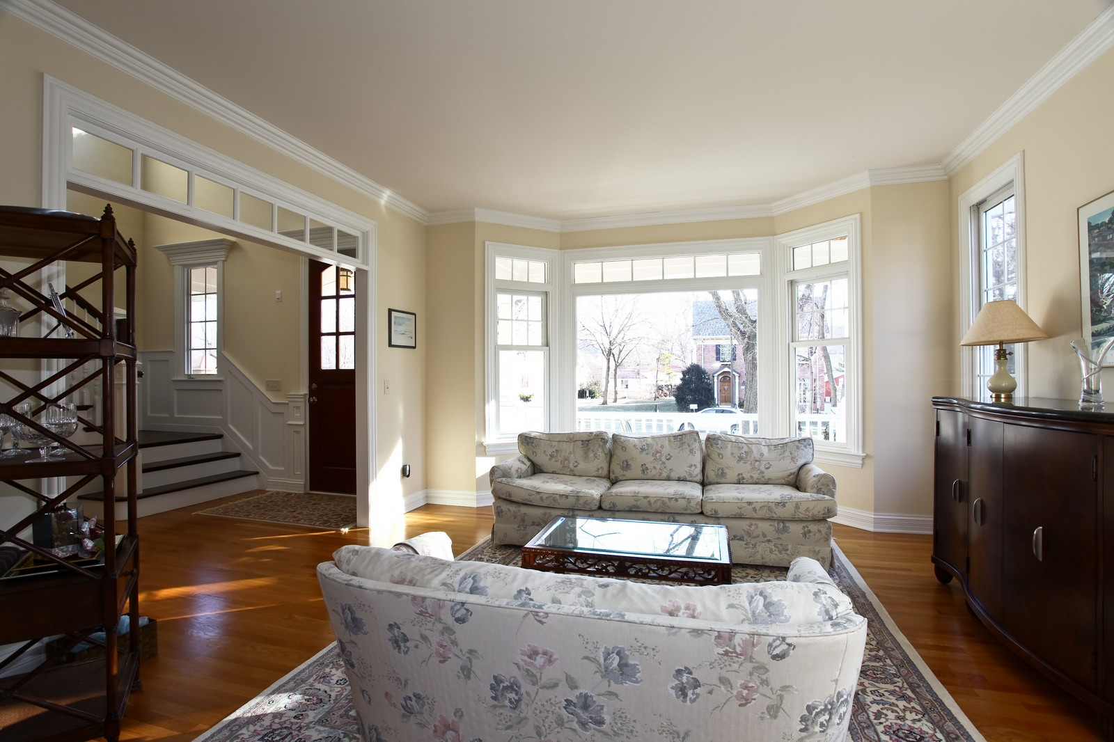 Real Estate Photography - 663 N Webster Street, Naperville, IL, 60563 - Living Room