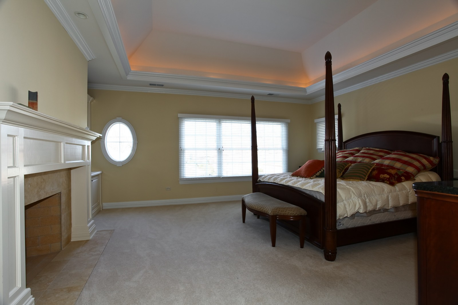 Real Estate Photography - 663 N Webster Street, Naperville, IL, 60563 - Master Bedroom