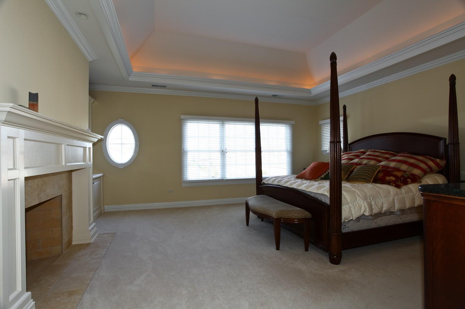 Real Estate Photography - 663 N Webster Street, Naperville, IL, 60563 - Master Bedroom