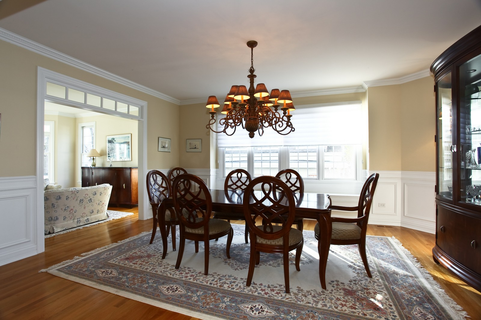Real Estate Photography - 663 N Webster Street, Naperville, IL, 60563 - Dining Room