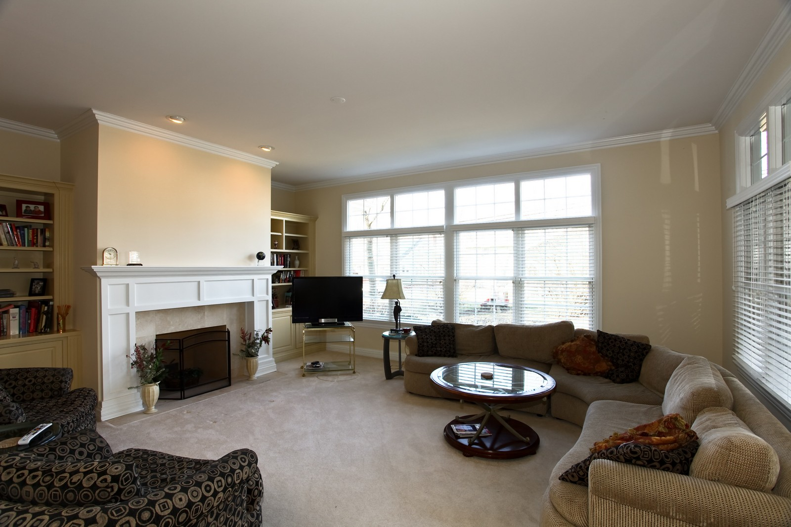 Real Estate Photography - 663 N Webster Street, Naperville, IL, 60563 - Family Room