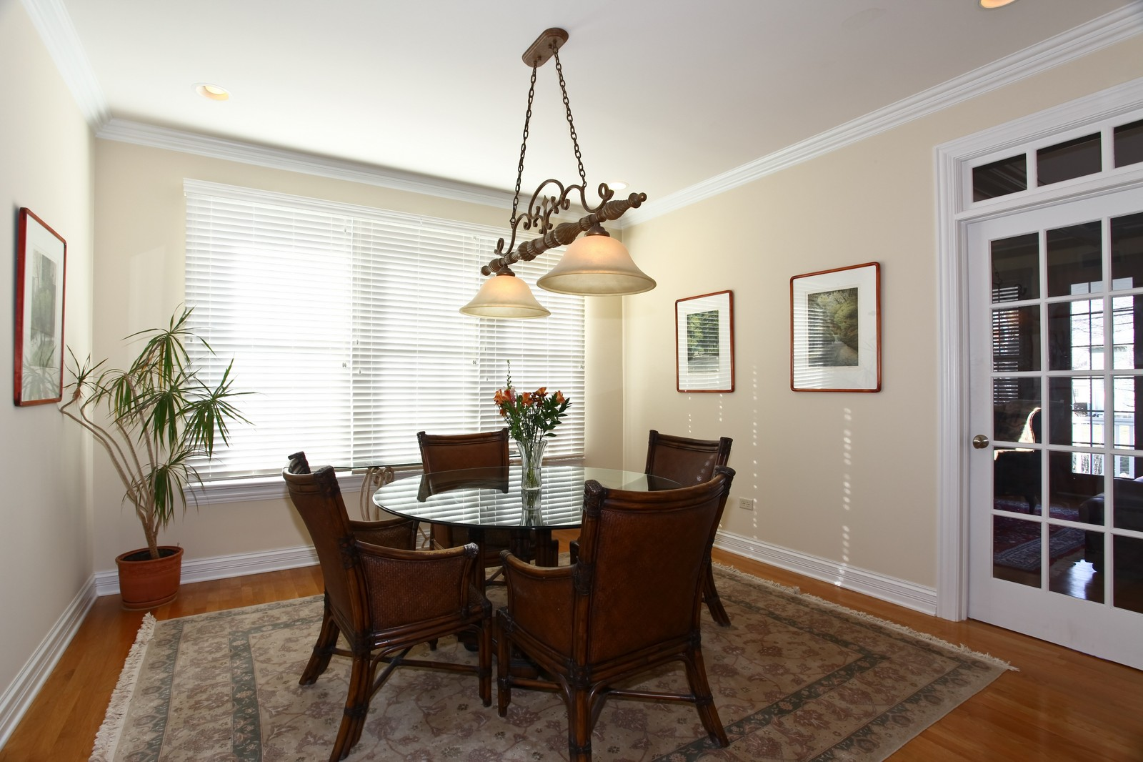 Real Estate Photography - 663 N Webster Street, Naperville, IL, 60563 - Breakfast Area